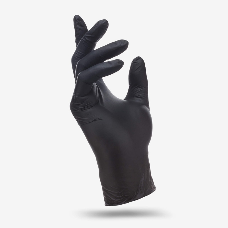 Перчатки черные Benovy L