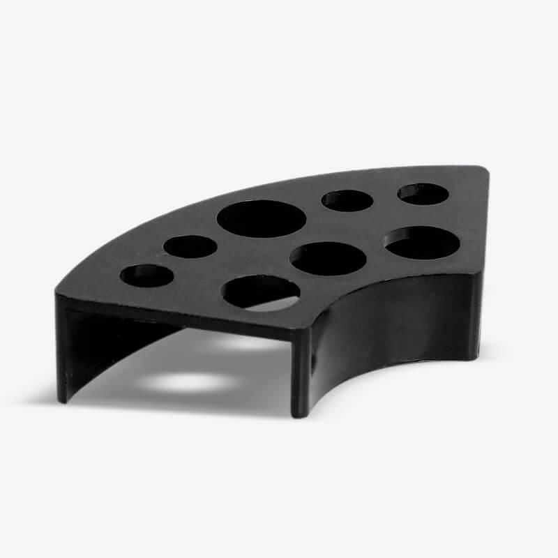 Подставка Под Колпачки Пластиковая Черная