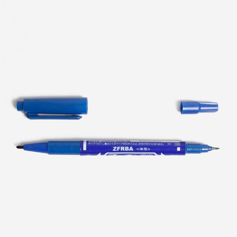 Тату маркер синий
