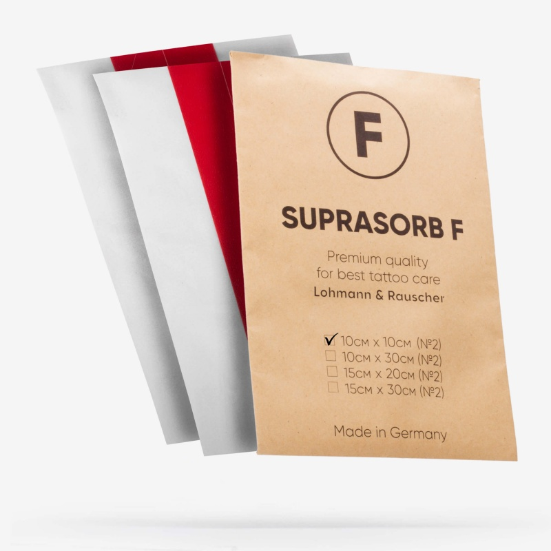 Супрасорб F Отрез 10 см x 10 см (Suprasorb F)