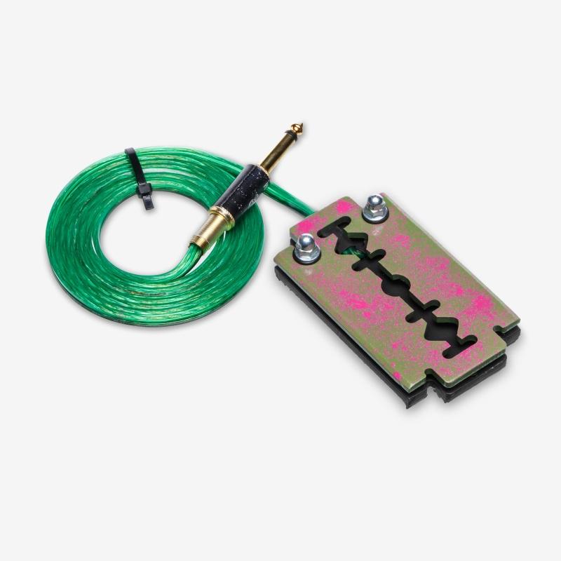 Moskit Steel Footswitch Бритва Green-Pink