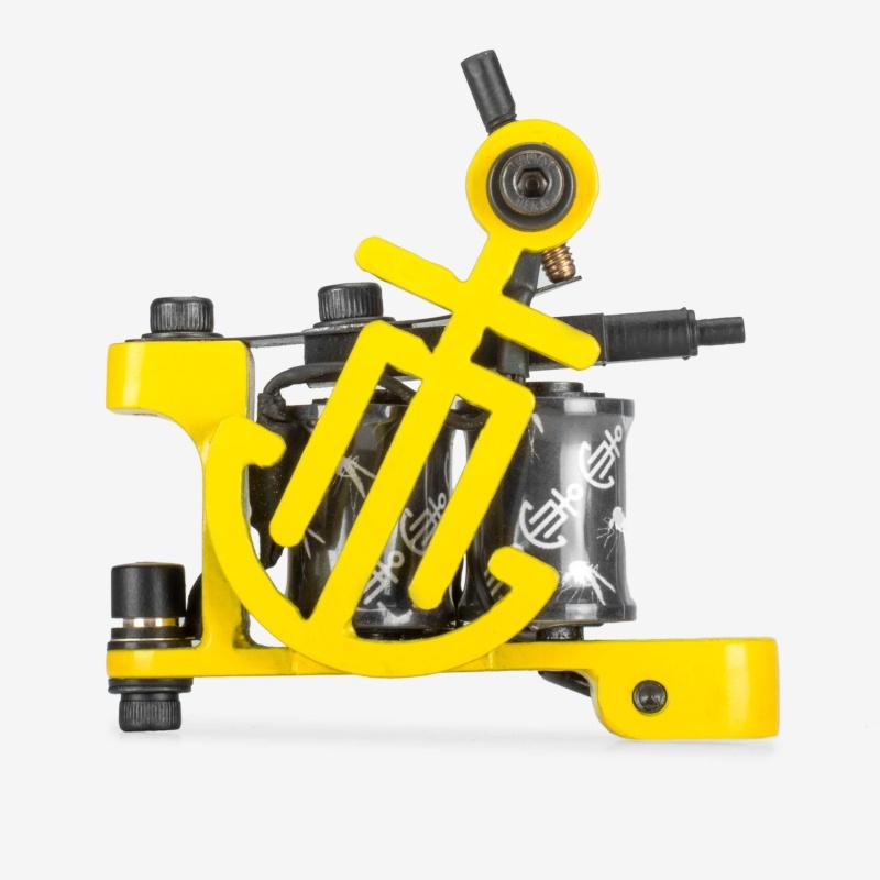 Moskit Steel X Тату Порт Liner Yellow