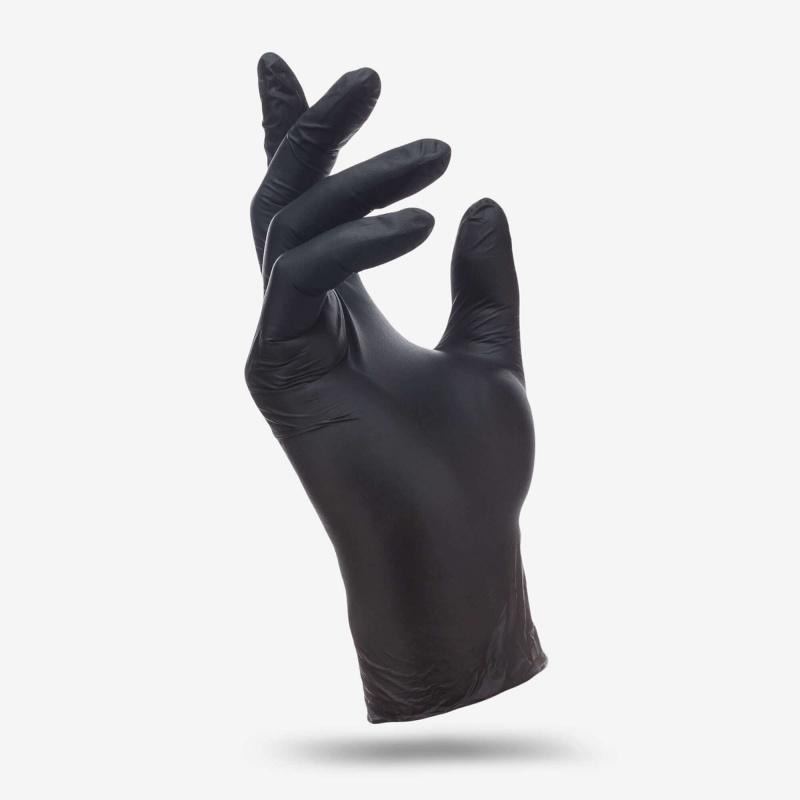 Перчатки черные Benovy S