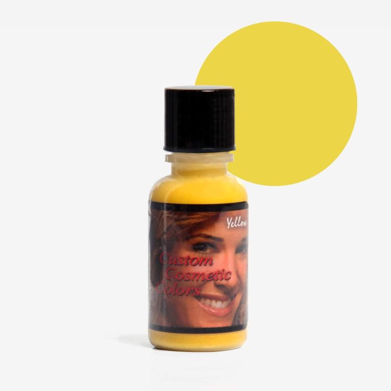 Yellow Custom Cosmetic Colors
