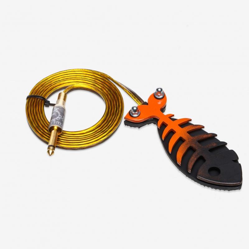 Moskit Steel Footswitch Рыба Orange-Black