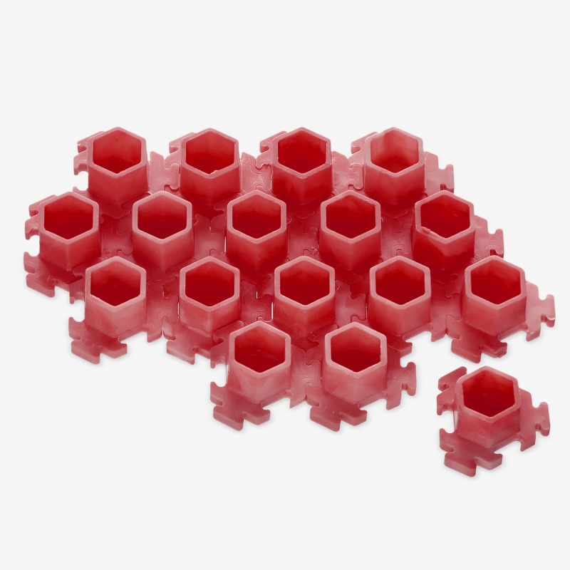 InkBox Puzzle M Red