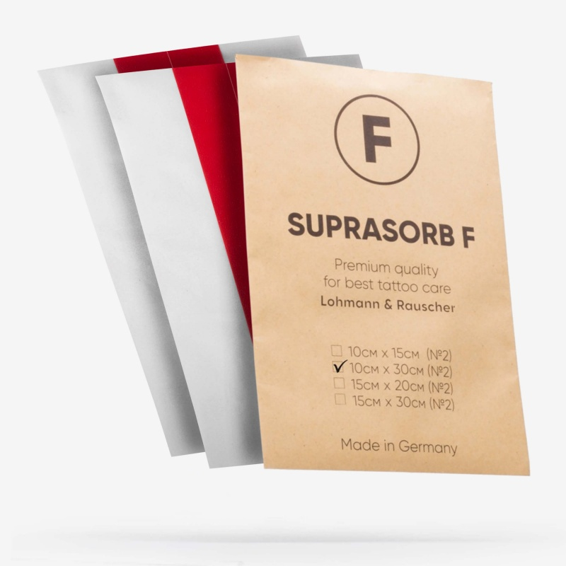 Супрасорб F 10 см х 30 см - 2 шт (Suprasorb F)