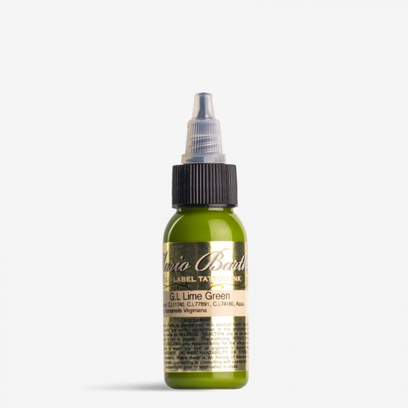 Gold Label Lime Green 1oz