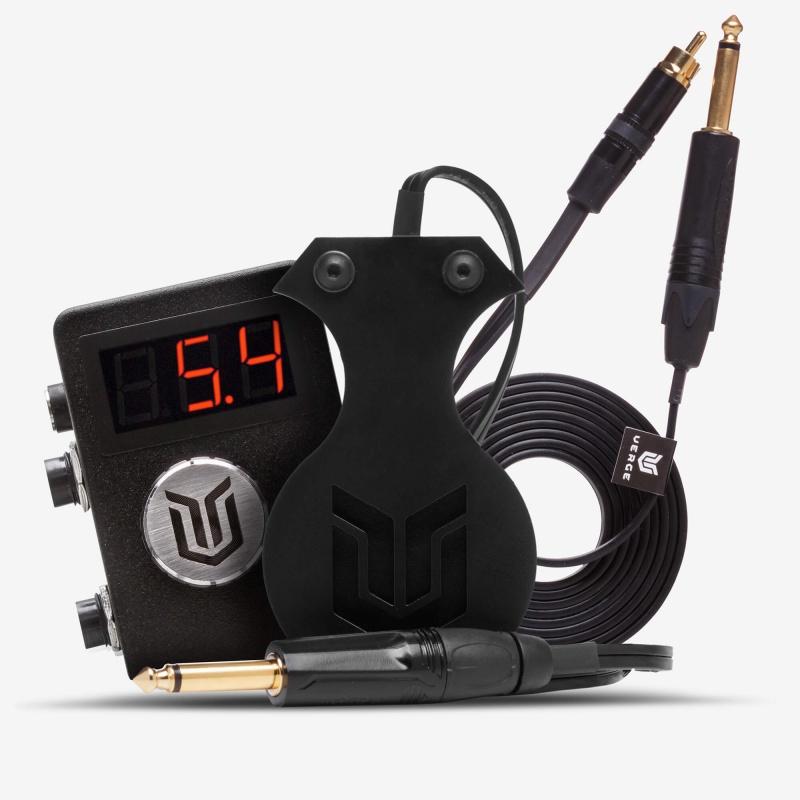 Комплект Verge Shadow Box + Verge Footswitch Logo Black + Verge RCA Cord