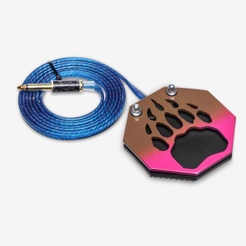 Moskit Steel Footswitch Лапа Brown-Pink