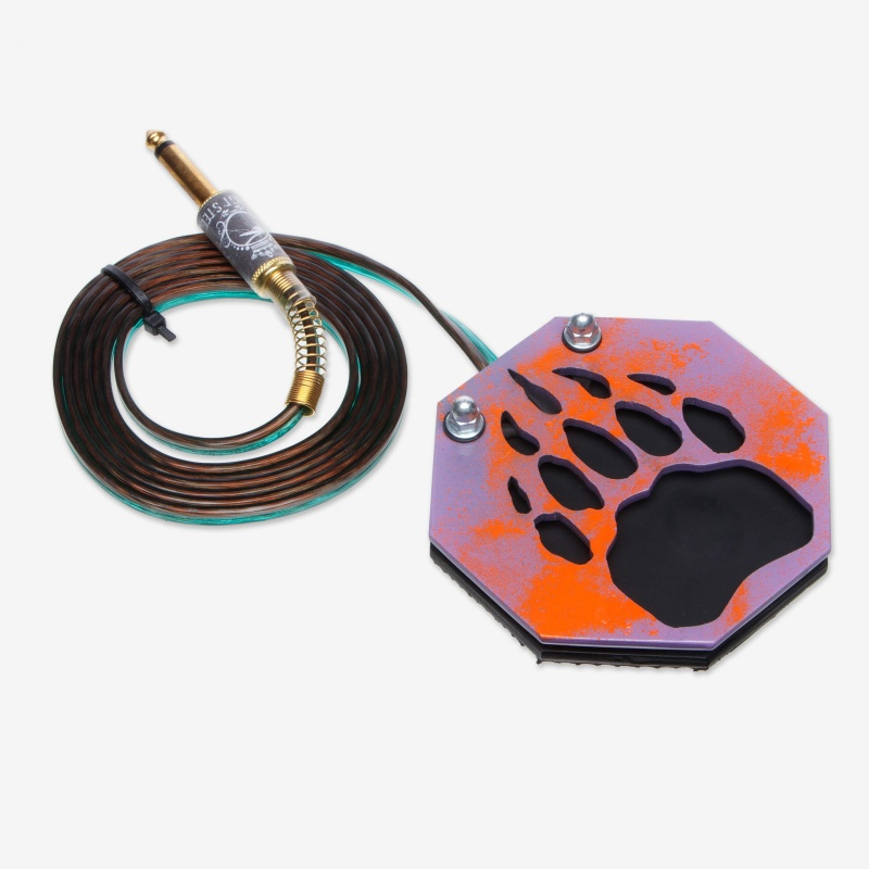 Moskit Steel Footswitch Лапа Purple-Orange