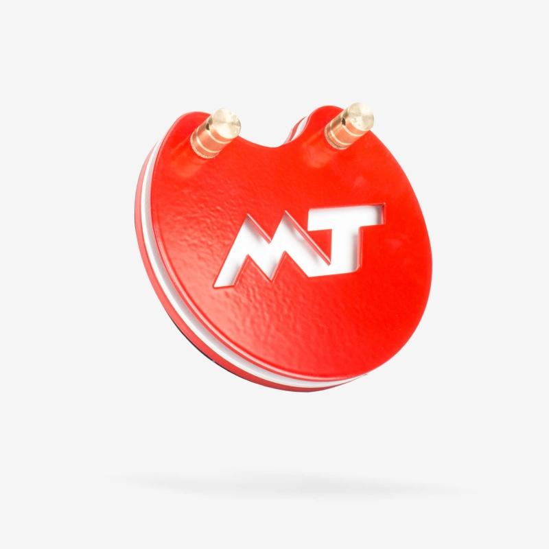 MT Round Footswitch Красный Неон
