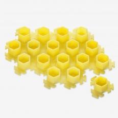 Колпачки InkBox Puzzle M Yellow
