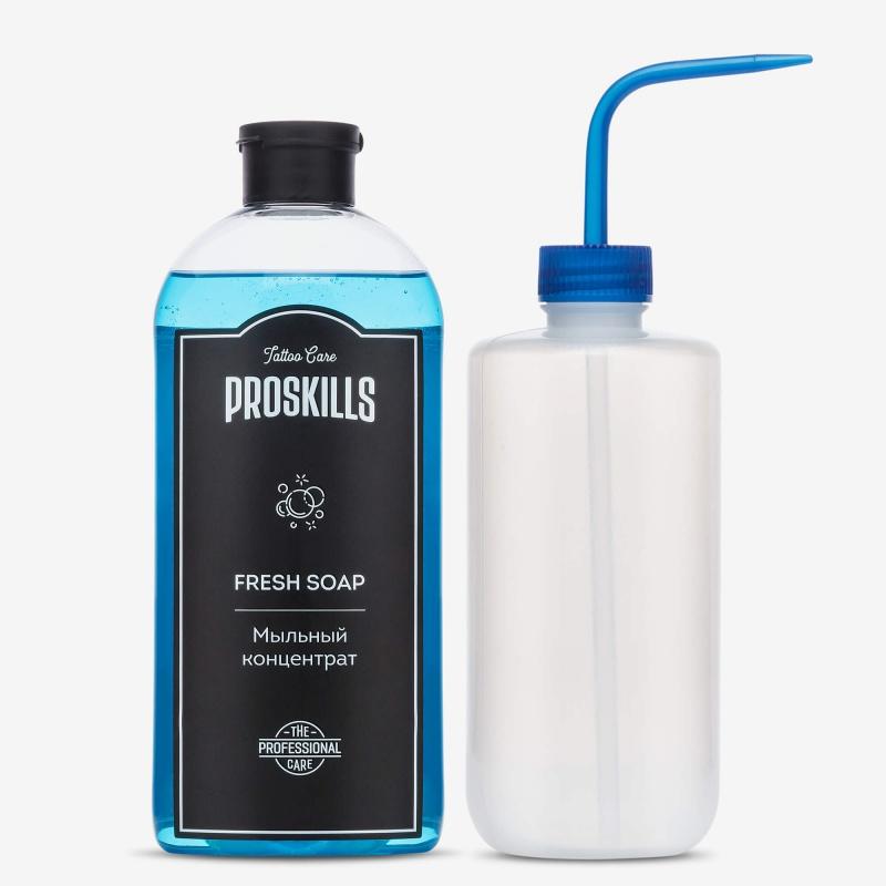 Комплект ProSkills Fresh Soap 500 мл + Бутылка Омыватель Белая 500 мл