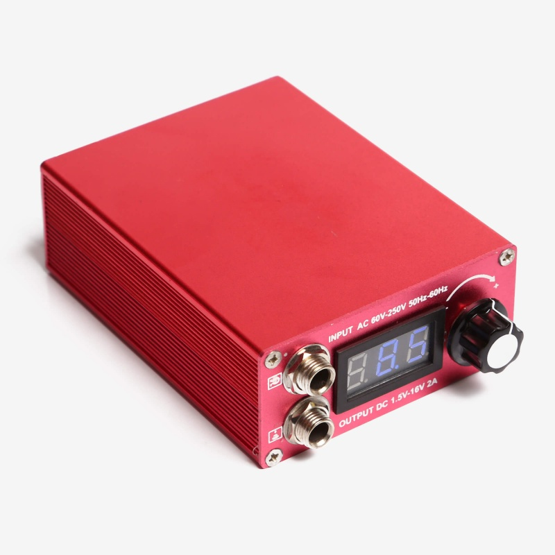 LED Mini Power Supply Red