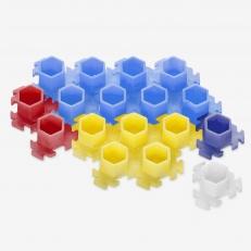 Колпачки InkBox Puzzle M Color Mix