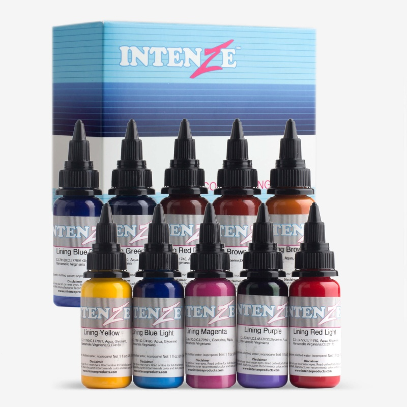 Intenze 10 Color Lining Series 1oz