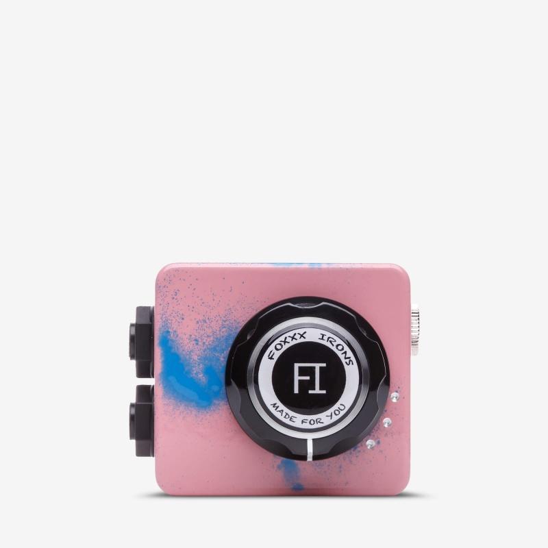 Foxxx Жук Blue Spatter on Pink