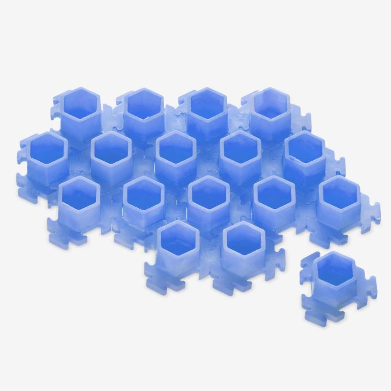 InkBox Puzzle M Blue