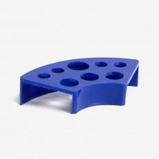 Подставка Подставка Под Колпачки Пластиковая Синяя