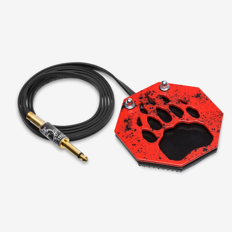 Moskit Steel Footswitch Лапа Red-Black