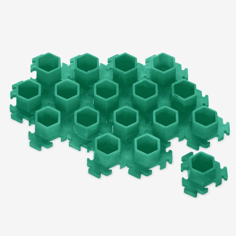 InkBox Puzzle M Green
