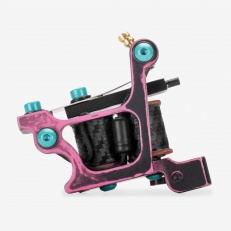 Тату машинка Сампир Black-Pink Shader