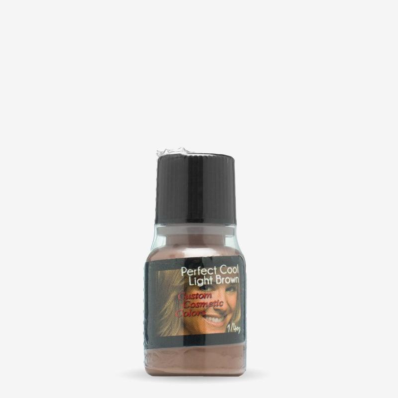 Light Brown R/P Custom Cosmetic Colors 1/4 Oz