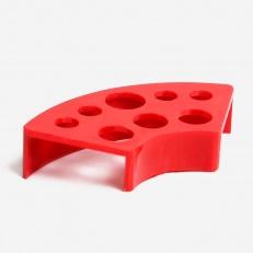 Подставка Подставка под колпачки Пластиковая Красная