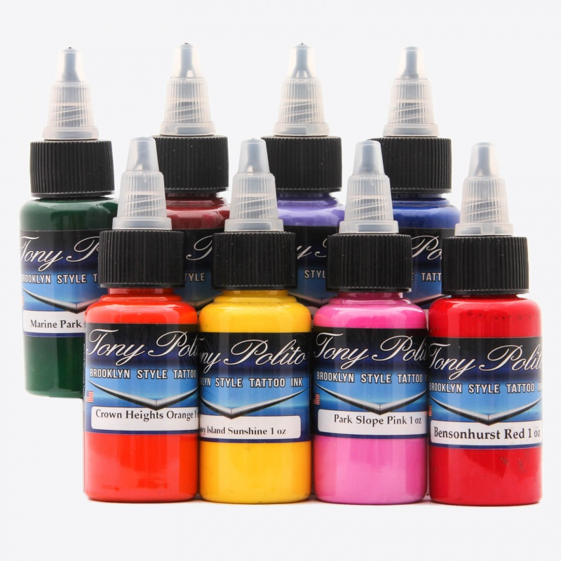Tony Polito 8 Colors Set 1 Oz