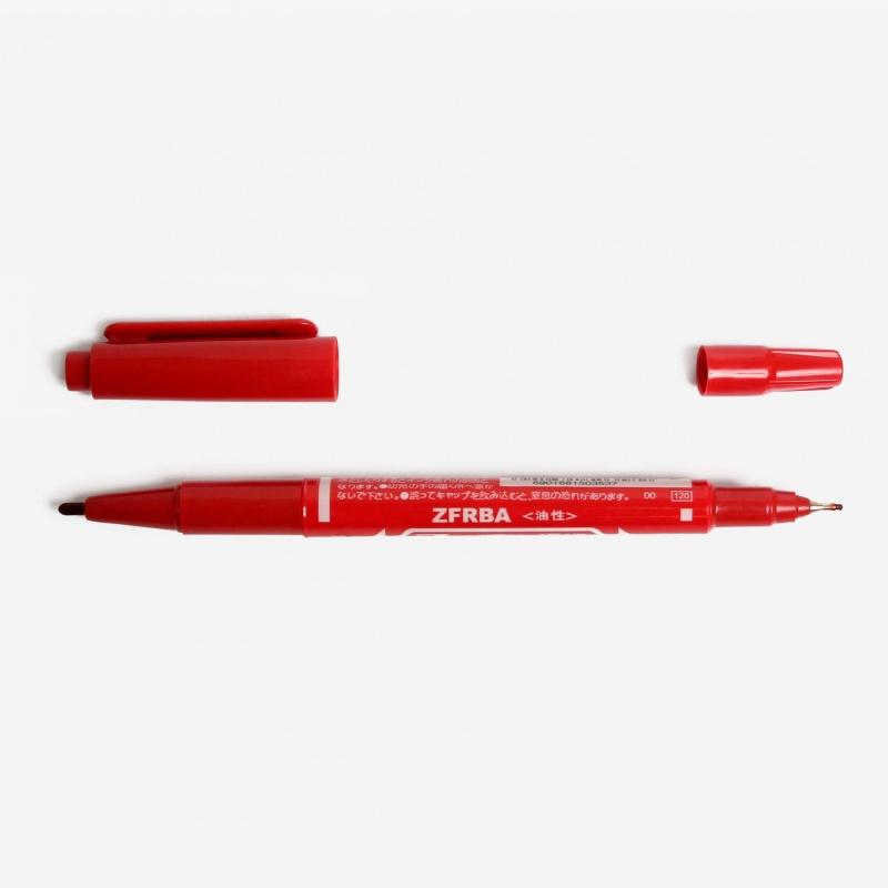 Тату маркер красный