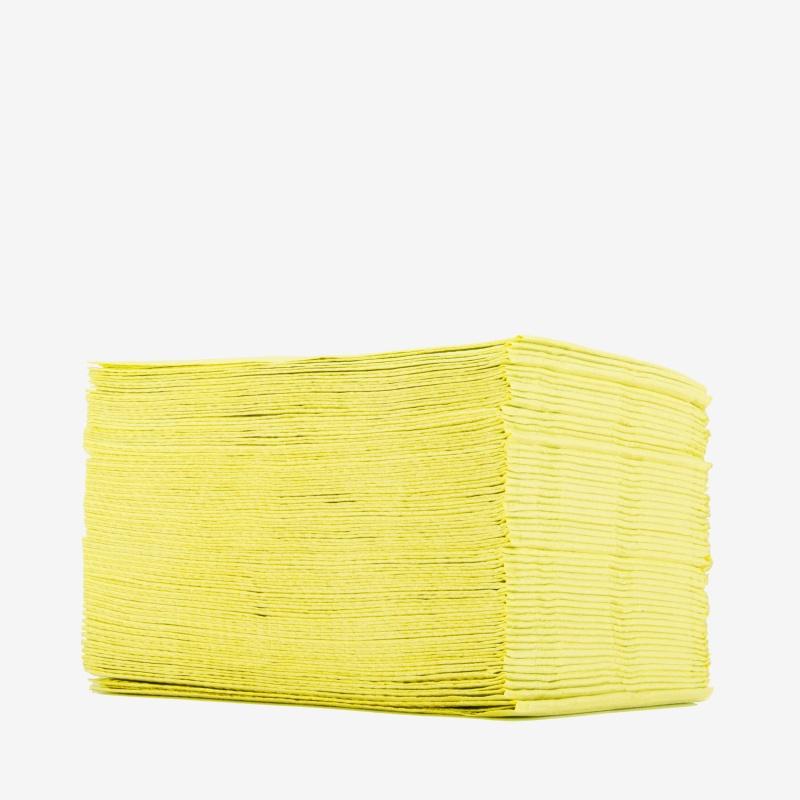 Салфетки Двухслойные Желтые 50 шт