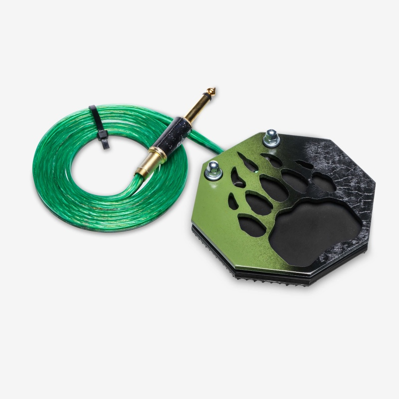 Moskit Steel Footswitch Лапа Green-Black