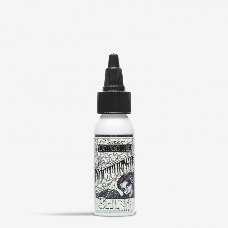Nocturnal Tattoo Ink Shine White 1 Oz