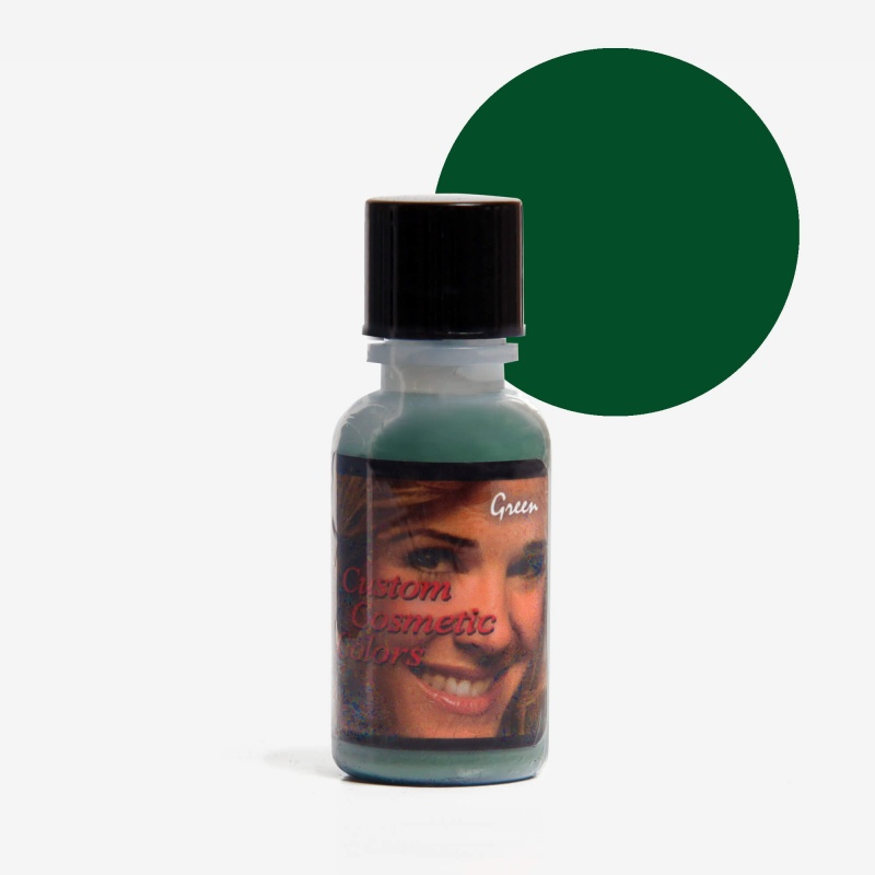 Green Custom Cosmetic Colors